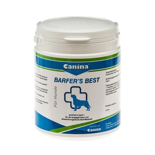 Витаминно-минеральный комплекс для собак Canina «Barfers Best» при натуральном кормлении, порошок 180 г