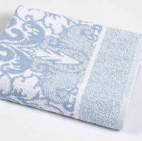 Рушник Iris Home - Odeon blue синій 50*90