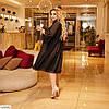 Женское красивое летнее хлопковое платье в большом размере, фото 2