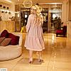 Жіноче красиве літнє бавовняне плаття у великому розмірі, фото 3