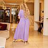 Жіноче літнє плаття на запах в горошок, великий розмір!, фото 6