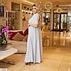 Жіноче шикарне плаття в підлогу великого розміру!, фото 5