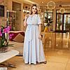 Жіноче шикарне плаття в підлогу великого розміру!, фото 6