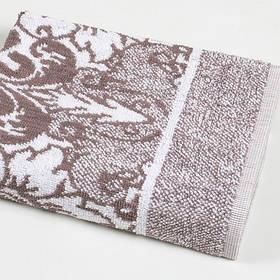 Рушник Iris Home - Odeon brown коричневий 50*90