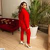 Жіночий модний брючний костюм трійка (штани, піджак і майка) великий розмір!, фото 3