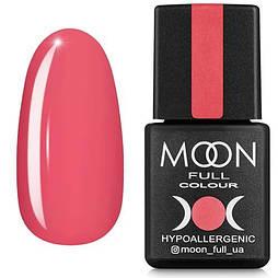 Гель-лак Moon Full №114 лососево-розовый, 8мл.