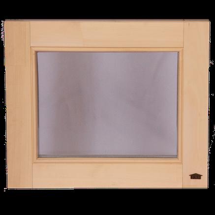 """Окна для бани и сауны Tesli """"глухое"""" 600 х 500, фото 2"""