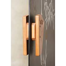 Дверь для сауны и хаммама Tesli Сезам 2050 х 800, фото 2