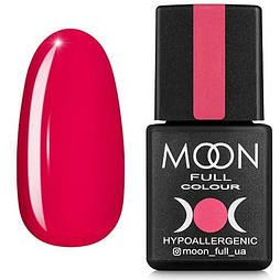 Гель-лак Moon Full №115 розово-красный, 8мл.