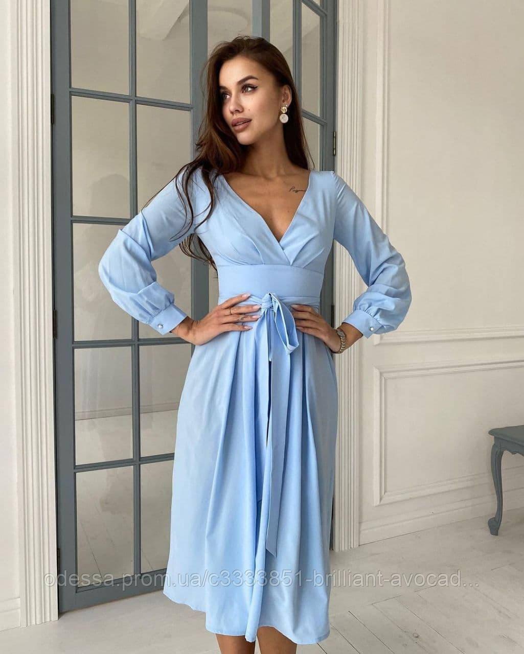 Красиве жіноче літнє плаття нарядне