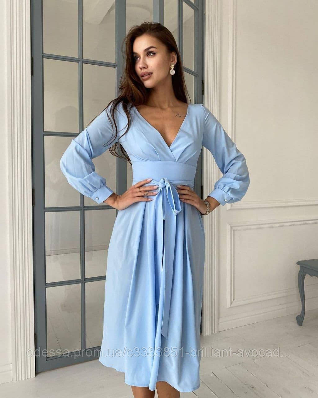 Женское красивое нарядное летнее платье