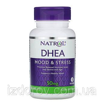 Natrol, ДГЭА, 50 мг, 60 таблеток