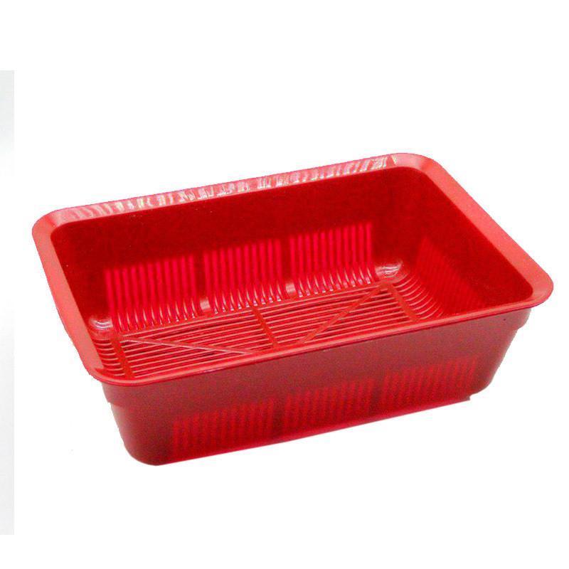 Туалет красный глубокий с сеткой 40*27*13 см