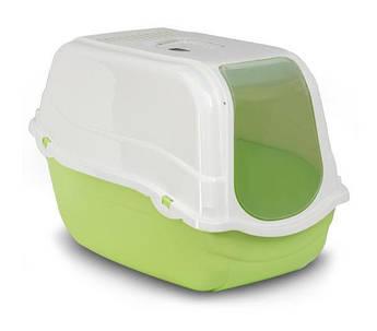 Туалет- бокс для кошек ROMEO GREEN  с фильтром 57*39*41 см