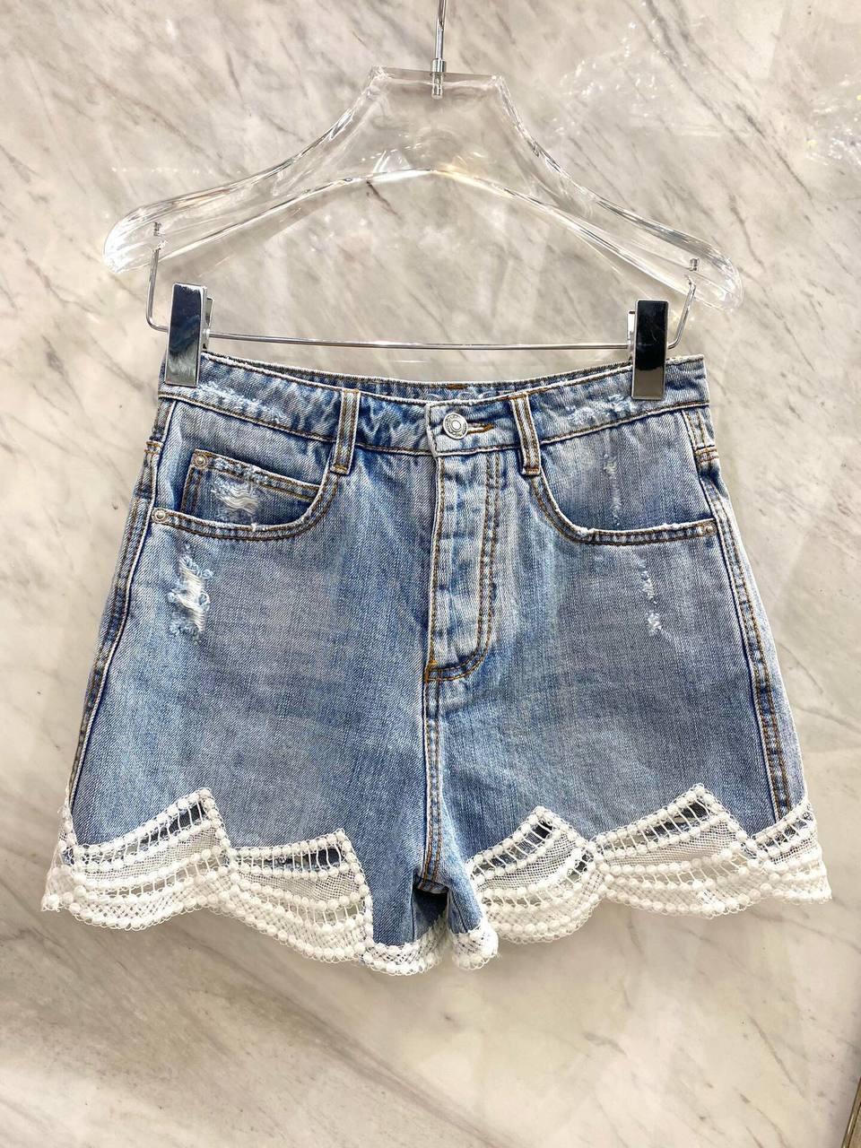 Женские брендовые джинсовые шорты арт. 157-01