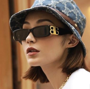 Вузькі сонцезахисні окуляри BB ретро сонцезахисні окуляри