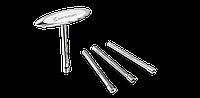 Ключ для спиць c Т-подібною ручкою, сріблястий, Birzman (ST)