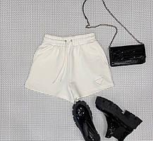 Женские белые шорты Prada (Прада) арт. 157-02