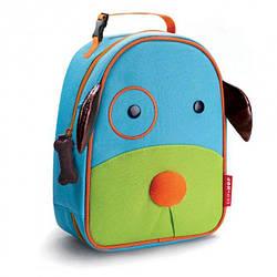 Детская термосумка Skip Hop Zoo lunch bag - Dog (Собачка), 3+