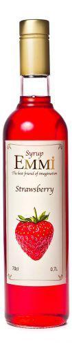 Сироп Эмми (Емми) Клубника 700 мл (900 грамм) (Syrup Emmi Strawberry 0.7)