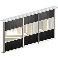 Комплект для трех дверей шкафа-купе Valcomp ARES 3