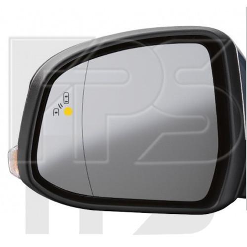 Вкладиш дзеркала Ford Focus II (08-11) лівий, + сліпа зона (FPS)