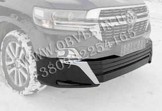 Накладка переднього бампера Toyota Land Cruiser 200 в стилі Executive Lounge 2021