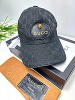 Кепка Gucci гуччи классика черная кепки