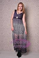 Платье в пол Тори IR-726 (сирень), фото 1