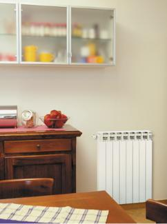 Алюмінієвий радіатор Fondital Calidor Super 800/100 В4 (Італія)