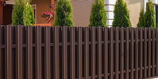 Забор из штакетника (материал)