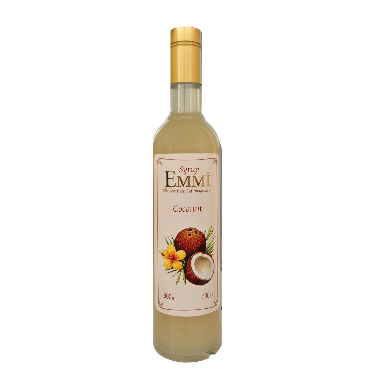 Сироп Еммі Кокос 700 мл (900 грам) (Syrup Emmi Coconut 0.7)