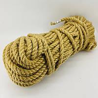 10 мм 50м Натуральна джутова канатна мотузка для інтер'єру