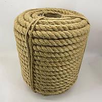 18 мм 50 м Джутова декоративна канат, мотузка для блокхаус, декорування інтер'єру