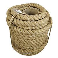 24 мм 50 м Джутова декоративна канат, мотузка для блокхаус, декорування інтер'єру