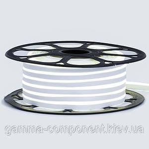 Неонова стрічка світлодіодна біла нейтральна 12V 6х12 AVT-smd2835 120LED/м 6Вт/м IP65