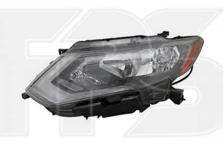 Передня фара Nissan X-Trail T32 '17 - USA права (Depo) + LED