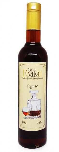 Сироп Еммі Коньяк 700 мл (900 грам) (Syrup Emmi Cognac 0.7)