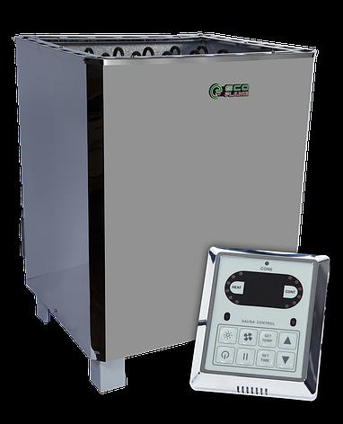 Каменки для сауни і лазні EcoFlame SAM D-15 15 кВт + пульт CON6, фото 2