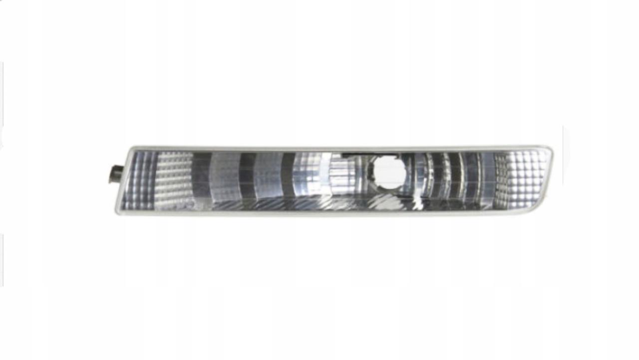Покажчик повороту в бампері Opel Vivaro 01 - лівий, білий (Depo) 442-1601L-AE 91166438