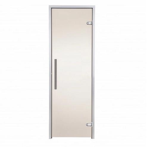 Дверь GREUS Premium  хаммам 70х200 бронза матовая