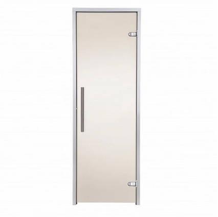 Дверь GREUS Premium  хаммам 70х200 бронза матовая, фото 2