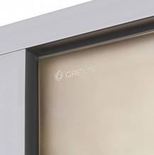 Дверь GREUS Premium  хаммам 70х200 бронза матовая, фото 3