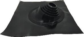 Покрівельний прохід Майстер Flash кутовий чорний (76-203 мм)