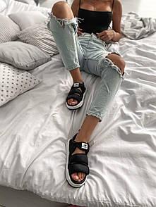 "Жіночі Босоніжки New Balance Sandals ""Black/White"""