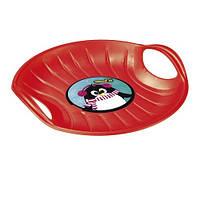 Зимние санки-диск SPEED-M, красные