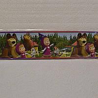 Бордюры для обоев, детские, Маша и медведь,  ширина 8 см, ограниченное количество