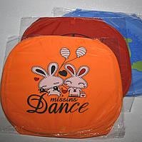Корзины для игрушек, оранжевого цвета