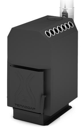 Отопительная печь Теплодар ТОП 200 со стальной дверкой, фото 2