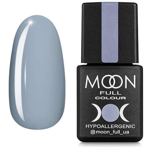 Гель-лак MOON FULL №148 блакитна сталь, 8мл.